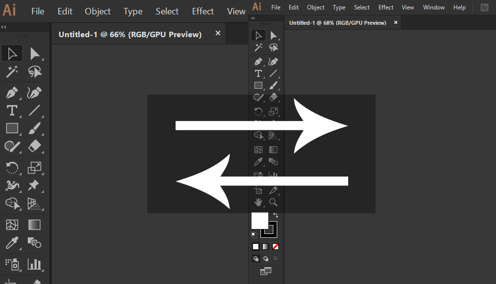 How-to-increase-or-Reduce-menu-toolbar-size-for-illustrator-2018