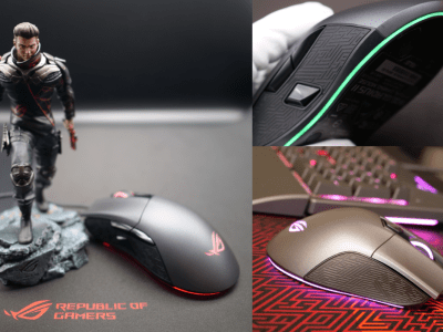 ASUS ROG Gladius II:FPS向けゲーミングマウス|ROGアンバサダーのレビュー