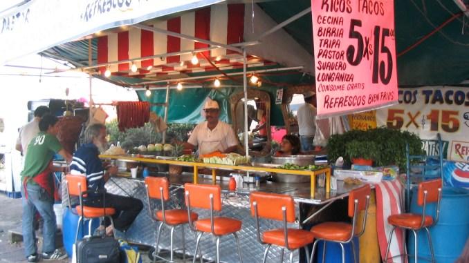 Comer en la calle en México