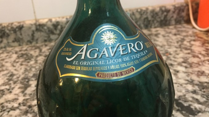"Licor de tequila ""Agavero"""
