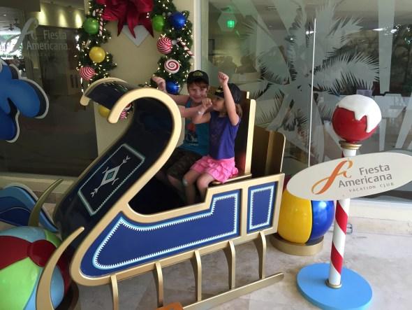 Club de niños del hotel Fiesta Americana