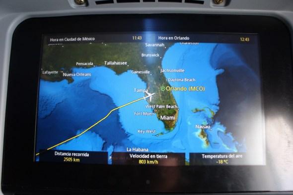 Llegando a Orlando