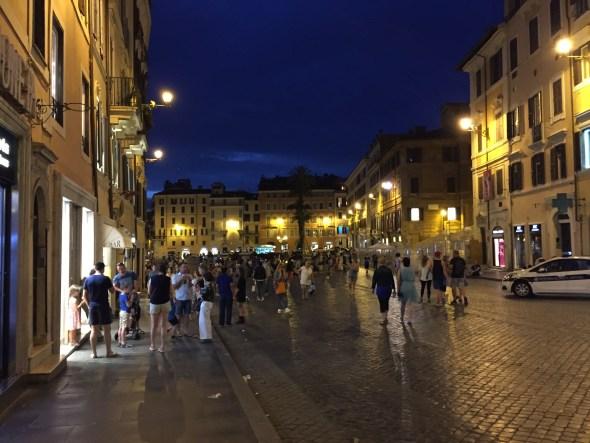 Inmediaciones de Piaza Spagna