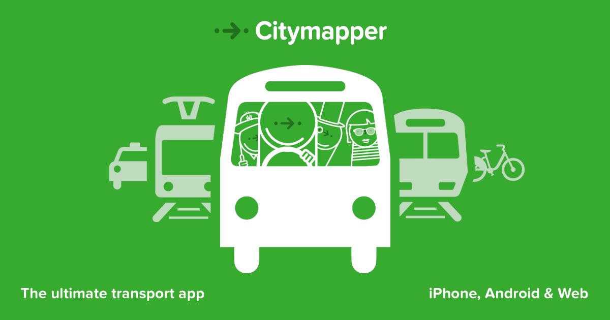 Muévete con Citymapper