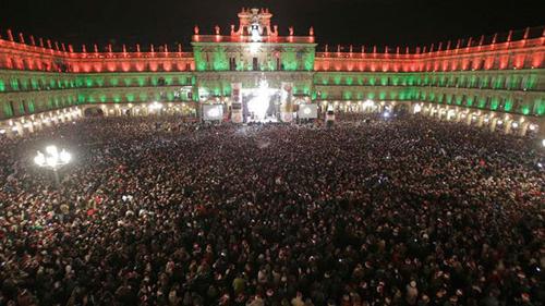 La Nochevieja Universitaria de Salamanca