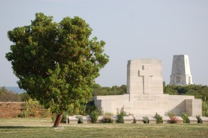 Johnson's Jolly CWGC with Lone Pine Memorial 1 (600 x 398)