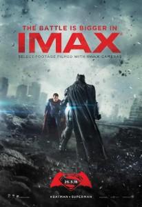 Pôster IMAX de Batman Vs Superman