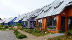 Ecovila Findhorn, na Escócia.