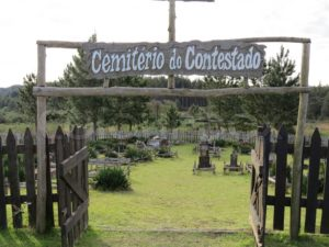 Cemitério do Contestado, no município de Irani - SC