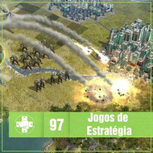 Vitrine MeiaLuaCast de Jogos de Estratégia