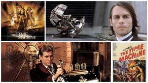 A Máquina do Tempo: Acima o filme de 2002 e abaixo do de 1960.