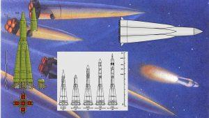 O Semyorka R7 e a família de foguetes que se originou dele.