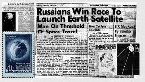 O impacto social e cultural que o Sputnik produziu no mundo e sobretudo nos EUA.