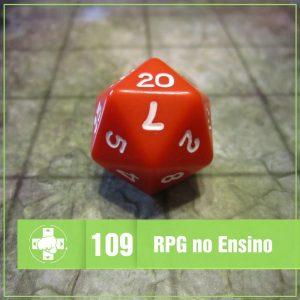 Vitrine MeiaLuaCast sobre o uso de RPG no ensino de matemática