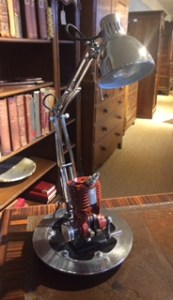 antique and repurposed lighting
