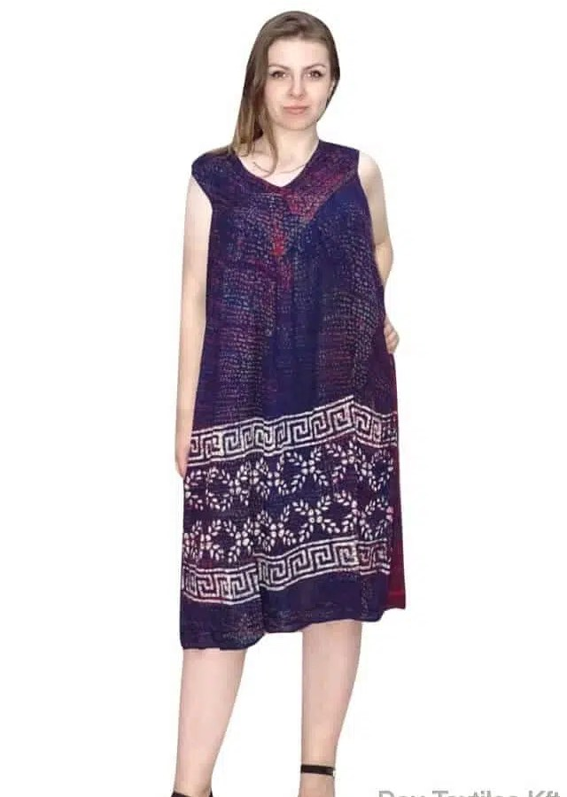 egyenes fazon indiai rövid ruha univerzális méret