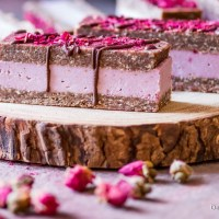 Charming Pink Raspberry Slices