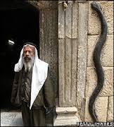 The Black Serpent outside the sanctum sanctorum