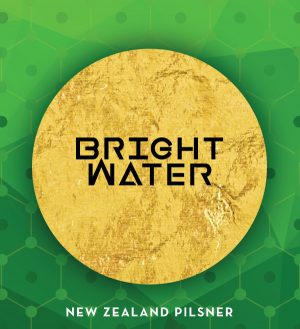Brightwater New Zealand Pilsner logo