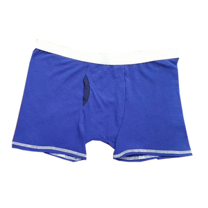 Men's Brief - low rise comfort fit. Made with production extras, so colours will be unique to every pair.