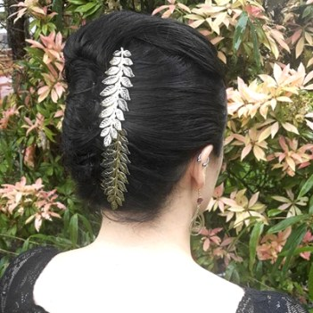 French Twist with Caesar Laurel Combs