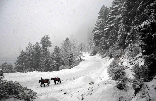Beautiful winters in Lahaul