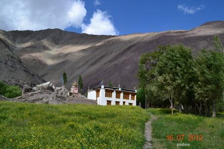 Scenic view at Alchi village