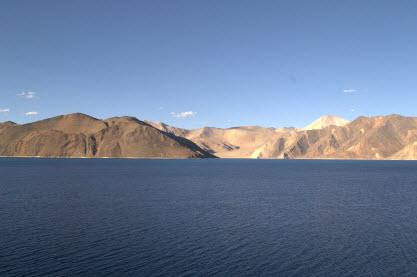 The Beautiful Blue... Pangong Tso Lake...