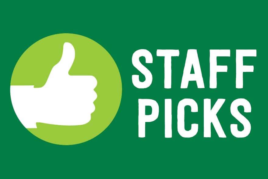 Staff Picks 10/08/2018!