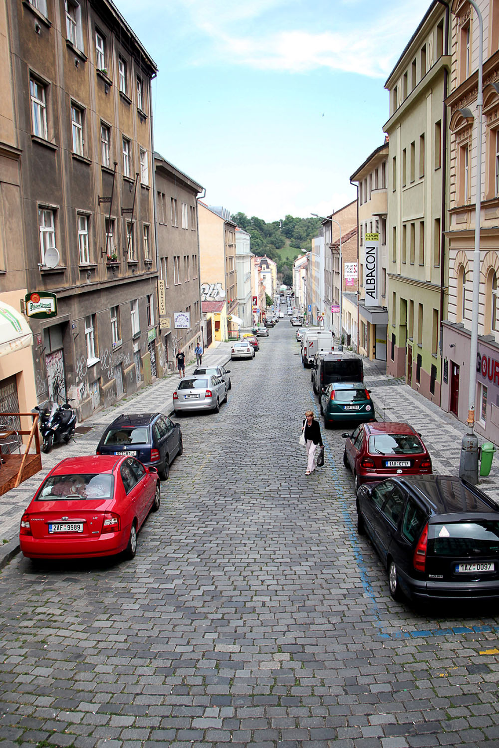 The other side of Prague