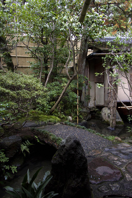 Kaiseki at Hyotei, Kyoto