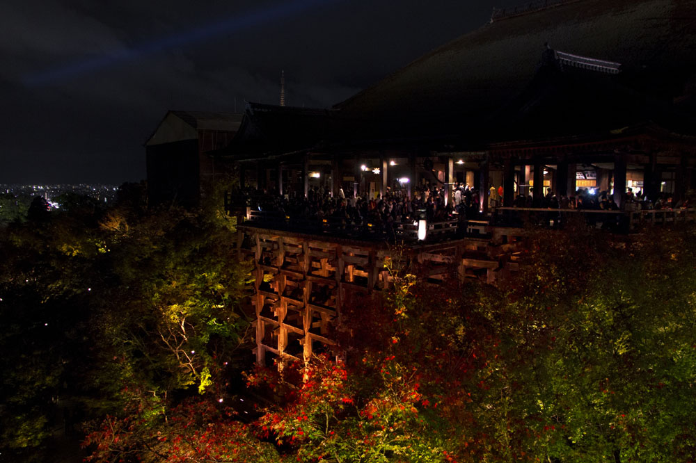 Night Illumination at Kiyomizudera & Kodaiji, Kyoto