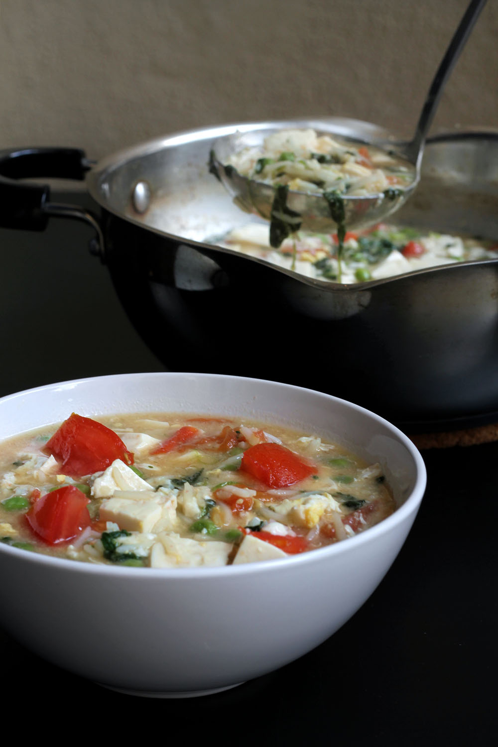 Weekend Kitchen: Miso Rice Soup