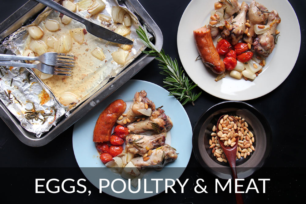 Eggs, Poultry & Meat