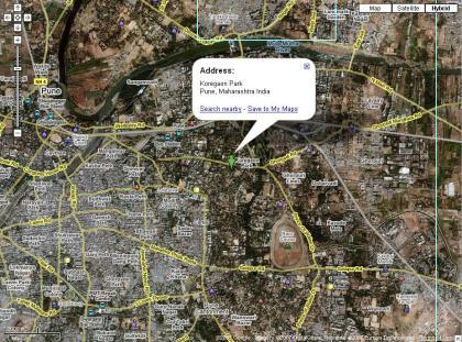 Google Map with Wikimapia Data