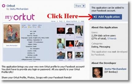Orkut Application for Facebook - Devils Workshop