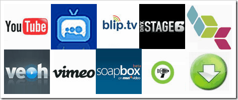 Top Video Sharing Site Logo Chart