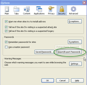 Password Exporter: Backup Your Saved Passwords in Firefox