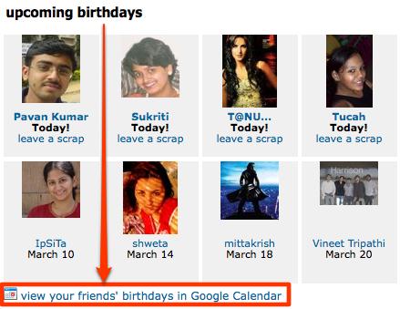 orkut-birthday-google-calender-integration