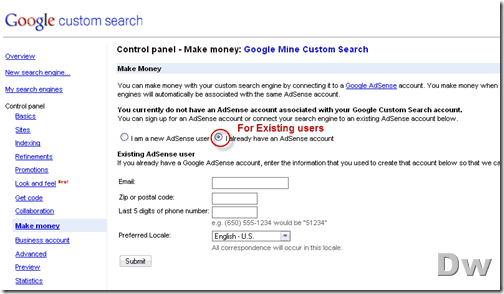 google custom search_money2