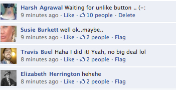 Facebook-comment-like-button