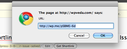 wp.me URL shortener