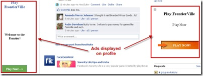 ads on fb profile
