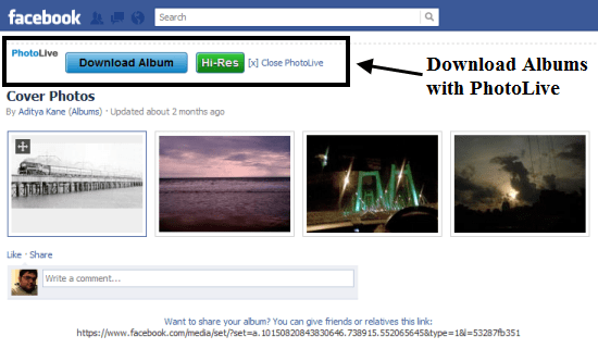 Simplest Online Tool to Download Facebook Albums in ZIP File