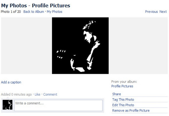 How to get old Facebook photo viewer