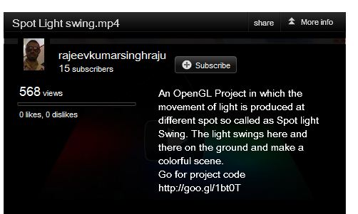 youtube subscribe in embedded video_info