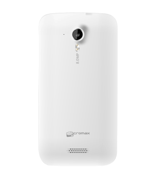 Micromax Canvas HD A116 - Back View
