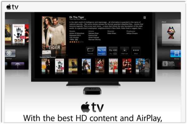 Apple TV for India