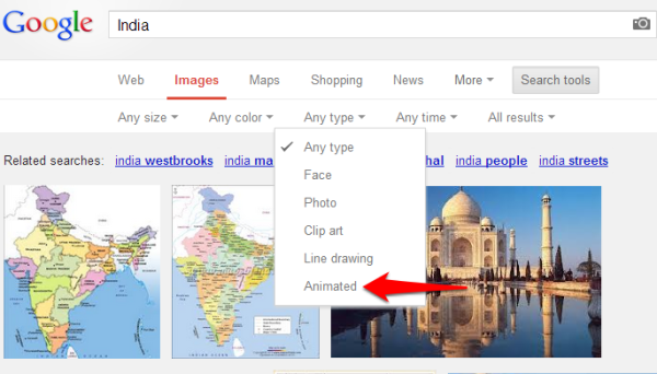 Google Animated Images