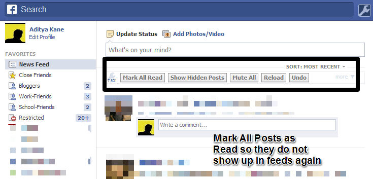 Stop posts repeatedly showing up on Facebook feeds with